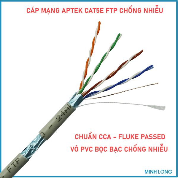 aptek cat5e ftp chong nhieu