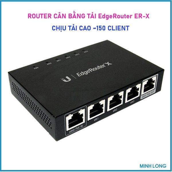 router edgex can bang tai 150