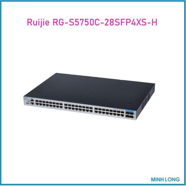 RG S5750C 28SFP4XS H 2